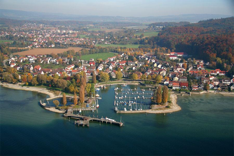 Luftbild von Uhldingen-Mühlhofen
